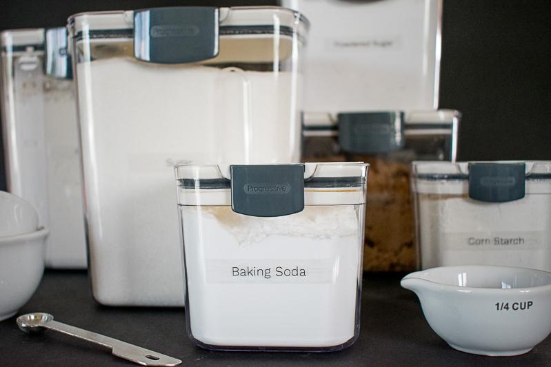 Baking Supplies Organized