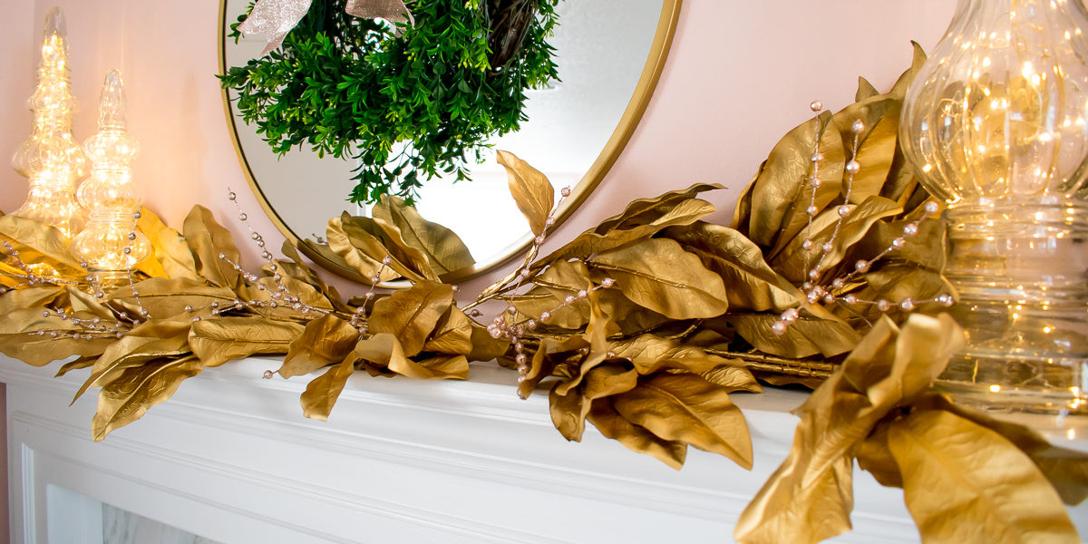 CRATE AND BARREL INSPIRED GOLD GARLAND TUTORIAL