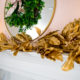 Crate and Barrel Inspired Gold Magnolia Leaf Garland Tutorial